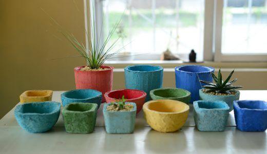 monoboxの商品開発実績「琉球漆喰鉢」