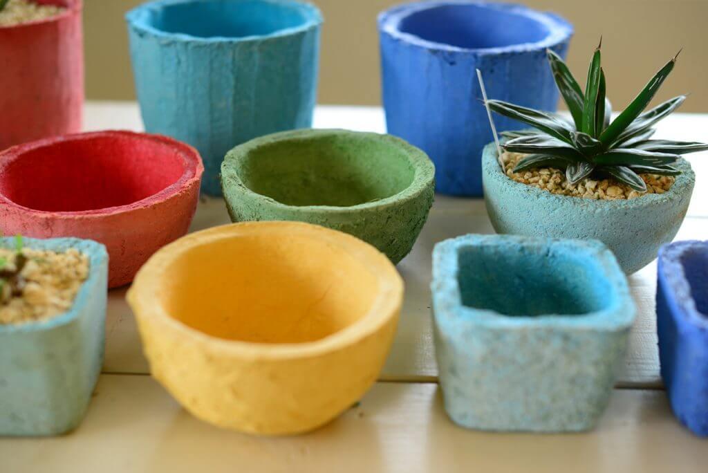 monobox商品開発実績「琉球漆喰鉢」